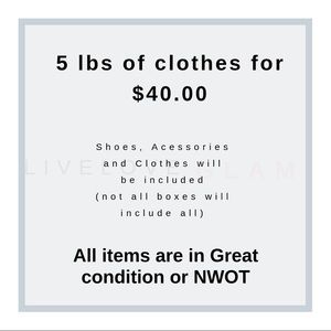 Pants - 5LBS of clothes ✨